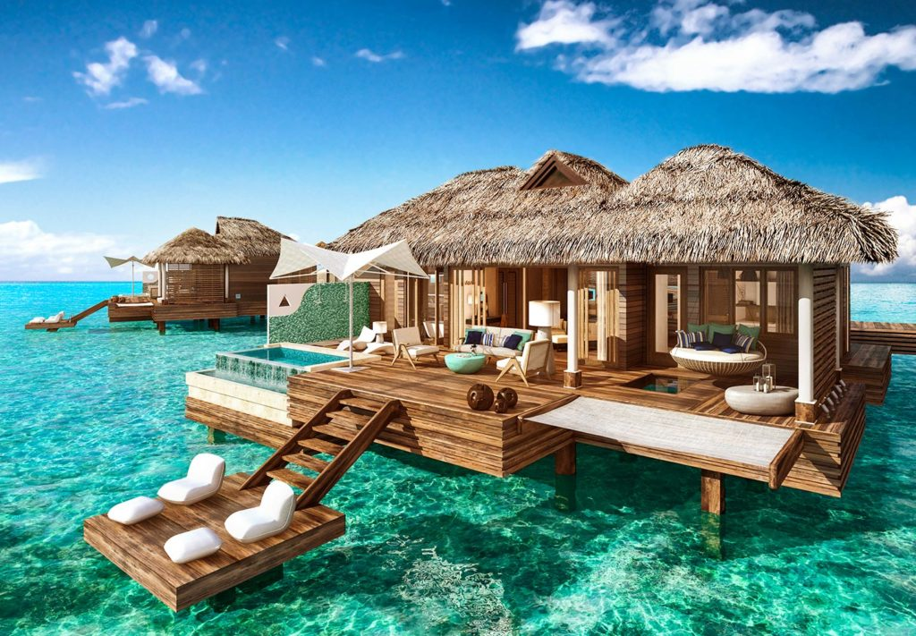 Sandals Royal Caribbeann - Over-the-Water Private Island Butler Honeymoon Bungalows
