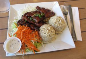 teriyaki chicken plate lunch